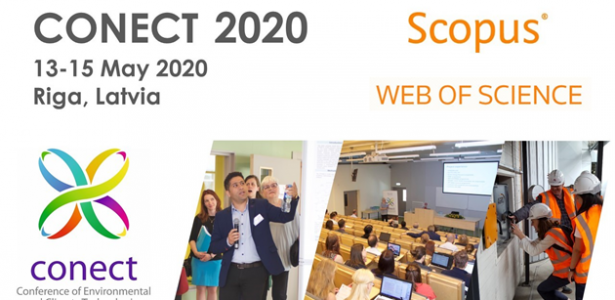 Invitation of the International Scientific Conference of Environmental and Climate Technologies – CONECT 2020