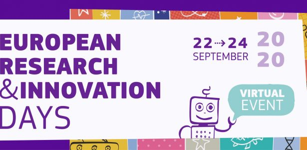 THE NEXT EUROPEAN RESEARCH AND INNOVATION DAY WILL BE HELD ON 22-24 SEPTEMBER. WE ENCOURAGE YOU TO PARTICIPATE!
