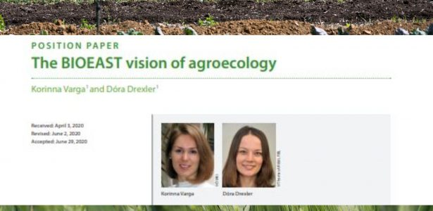 The coordinator of the AGROECOLOGY TWG of the BIOEAST has published a scientific article