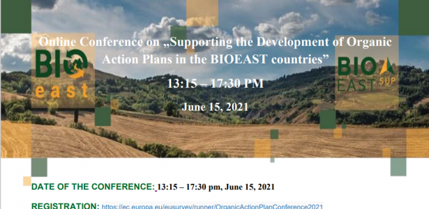 """Online Conference on """"Supporting the Development of Organic Action Plans in the BIOEAST countries"""""""